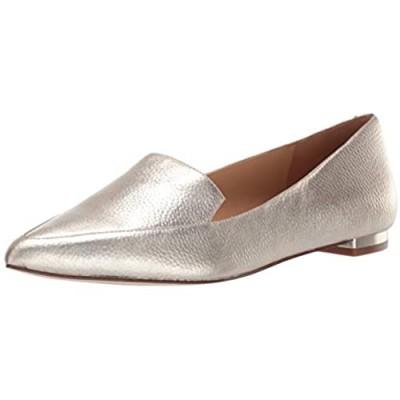 NINE WEST womens Fashion Loafer Flat Gold 5/11 US