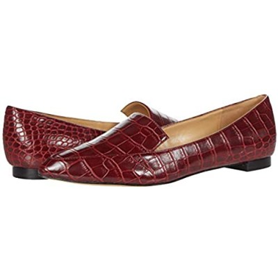 NINE WEST Women's WNABAY3 Loafer Red 1 6