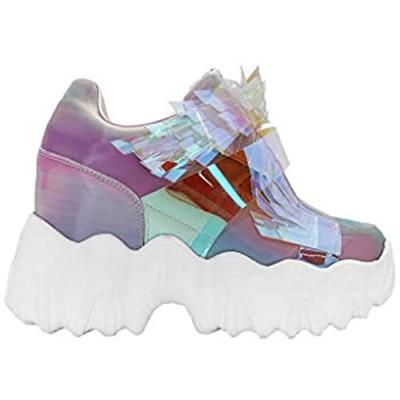 Anthony Wang X LASR Exclusive Battle Angel Winged Platform Wedge Sneakers