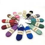 Flat Velvet Shoelaces 0.4 Inch Wide Fashion Ribbon Shoe Laces YJRVFINE Velvet Shoe Lace for Sneakers Shoes Boots