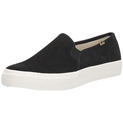 Keds Women's Double Decker Suede/Shearling Slip on Sneaker