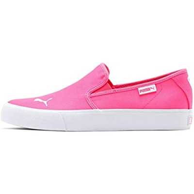 PUMA Womens Bari Slip On Sneakers Shoes Casual - Pink