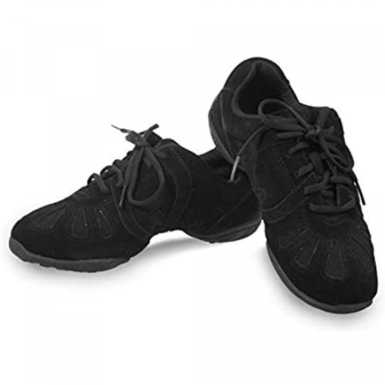 Skazz by Sansha Women's Dance Studio Exercise Sneakers Canvas TPR Split-Sole Dyna-eco