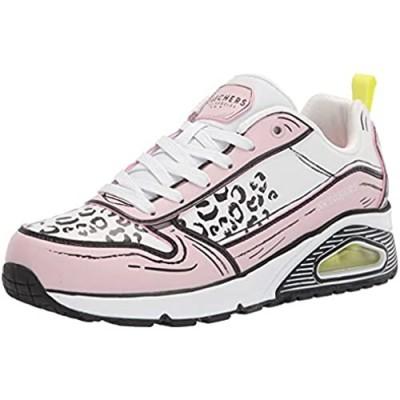 Skechers Women's Uno-Leopard Leaps Sneaker