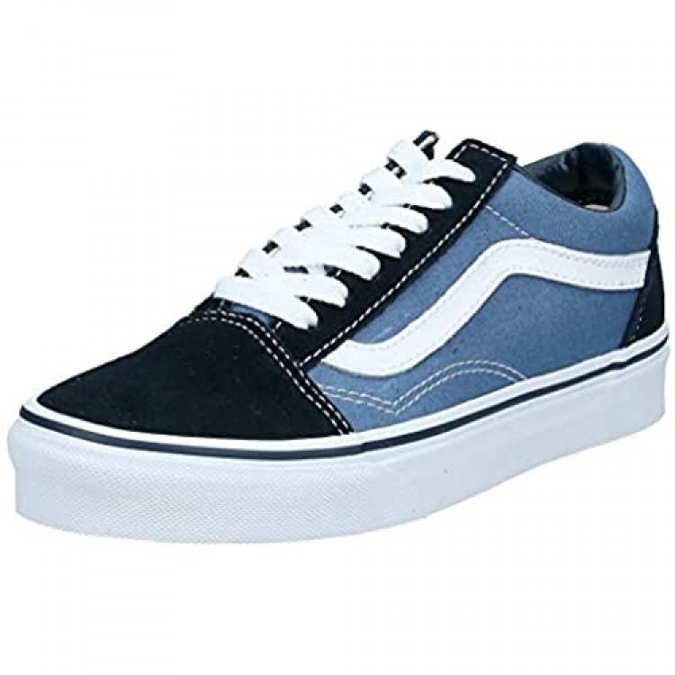 Vans Men's Old Skool Skate Shoes 5 (Navy)