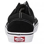 Vans Old Skool Sneakers (Black/White) Unisex Classic Skate Era Suede Shoes
