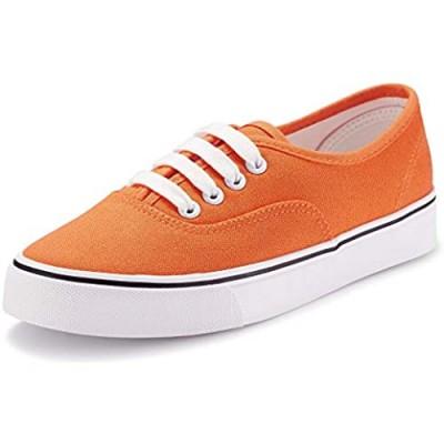 Women Canvas Sneaker Casual Core Classic Skate Shoes Low Cut Espadrilles Lace up Comfortable