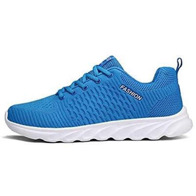 XIDISO Mens Walking Shoes Women Running Shoe Lightweight Breathable Sport Gym Cross Training Sneakers
