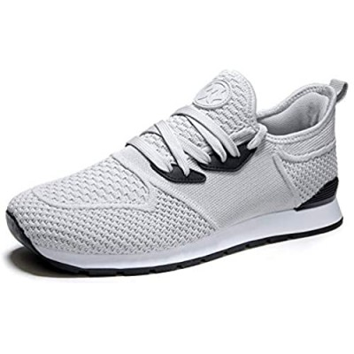 Hsyooes Women's Walking Shoes Lightweight Sneakers Athletic Casual Mesh Running Shoes Sport Gym Work Loafers