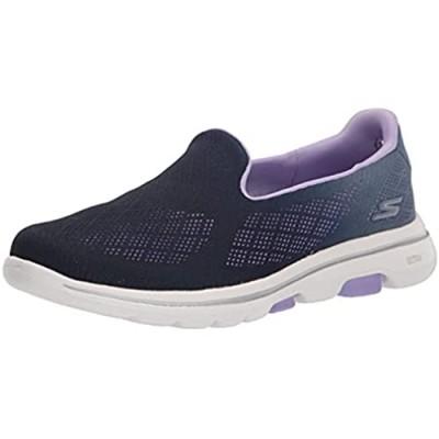 Skechers Women's Go Walk 5 Ombre Mesh Slip on Sneaker