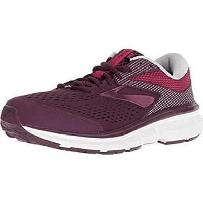 Brooks Women's Running Shoes Purple Purple Pink Grey 527 8 us
