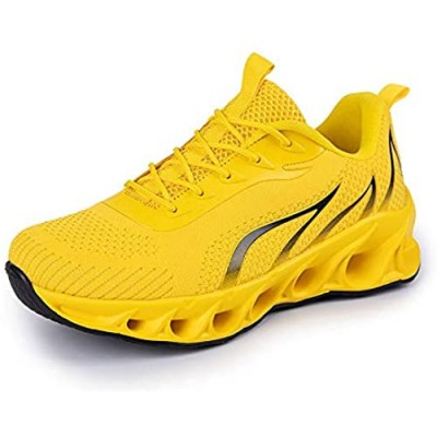 mitvr Men's Running Shoes Casual Sneakers Athletic Fashion Tennis Sports Shoes for Women