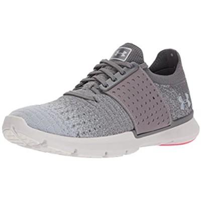 Under Armour Women's Speedform Slingwrap Fade Running Shoe Graphite (101)/Glacier Gray 7