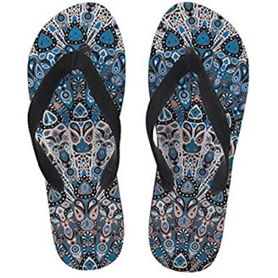 BIGCARJOB Fashion Flip Flop Sandals Women Men Casual Pull On Non-slip Slippers