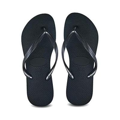 Fielay Women's Slim Flip Flops Beach Slippers Flat Sandals