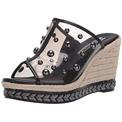 Karl Lagerfeld Paris Women's Carita Wedge Sandal Platform