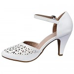 Forever Collection Mary Jane Pumps Feminine Cut